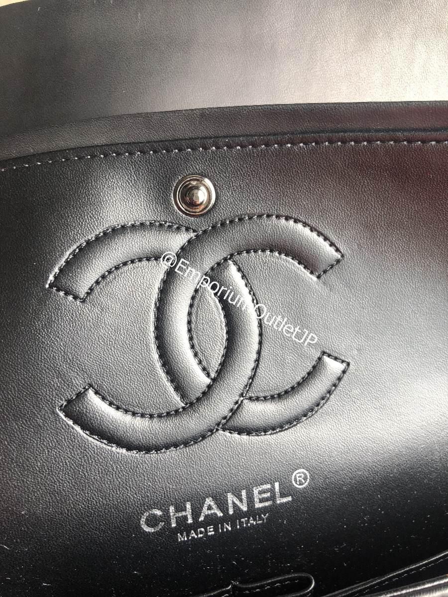 9f16c7025344d Bolsa Chanel Chevron Original 2.55 Total Black Fotos Reais - R ...