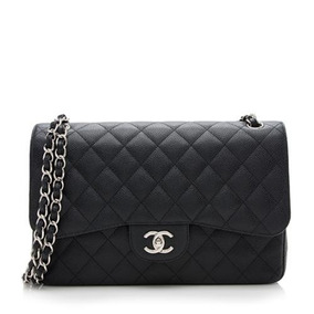 358452360 Bolsa Chanel Jumbo Couro Calfskin Ferragens Dourada - Bolsas no Mercado  Livre Brasil
