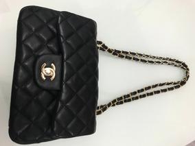 1cc3a2595 Bolsa Chanel Inspired Off White - Bolsas no Mercado Livre Brasil