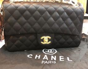 812b9c692 Bolsa De Couro Feminina Femininas Amaro - Bolsas Chanel de Couro ...