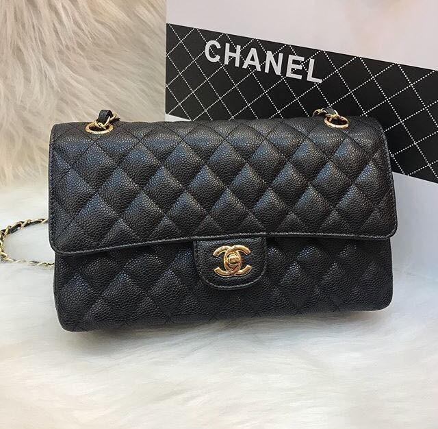 e3816e12548 Bolsa Chanel Classic Flap Preto - Frete Gratis - R  2.199