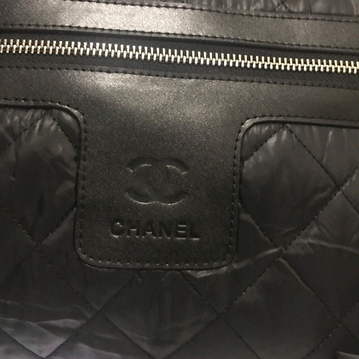 648a0794877 bolsa chanel coco cocoon nylon preta - importada. Carregando zoom.
