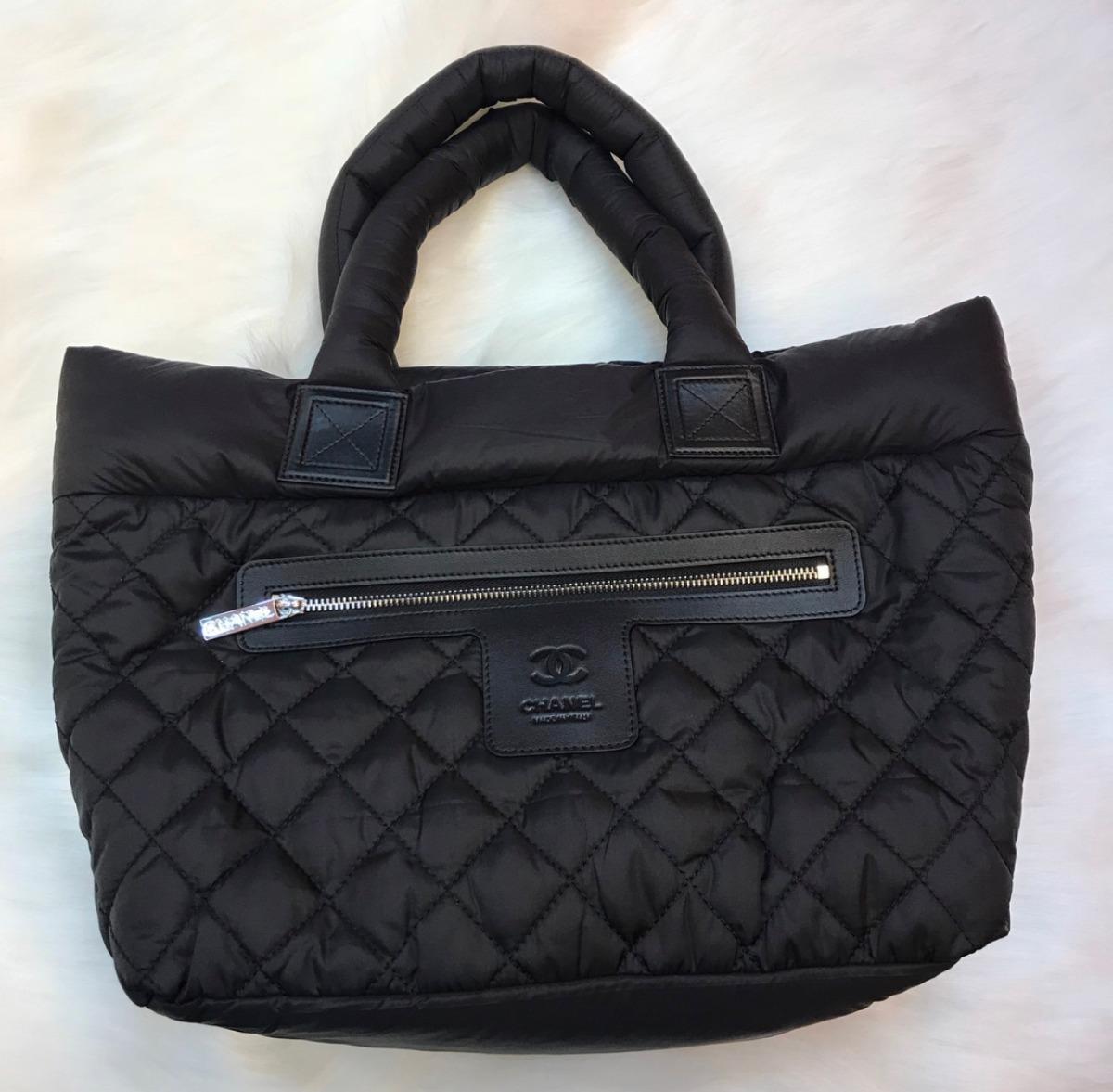 Bolsa Chanel Cocoon Nylon - Importada - Frete Grátis - R  1.349 1eb0cdf0136