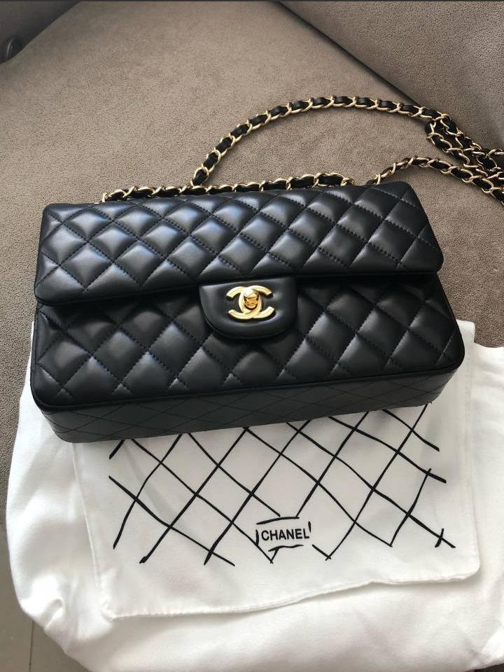 02c242c63 Bolsa Chanel Double Flap Preta - R$ 2.999,00 em Mercado Livre