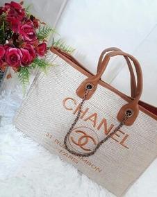 730a1ba80 Bolsa Chanel Lona Atacado - Calçados, Roupas e Bolsas no Mercado Livre  Brasil