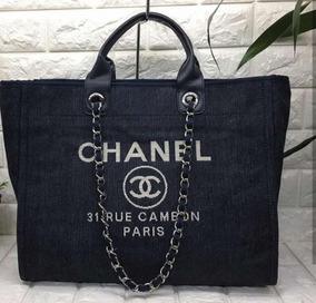 ea261ea8a Bolsa Chanel De Lona - Bolsas no Mercado Livre Brasil