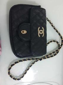 2678ec593 Bolsa Femeninas/ - Bolsas Chanel de Couro Sintético Femininas Preto ...