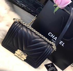 addc1e596 Bolsa Chanel Le Boy Inspired Mini - Bolsas Femininas no Mercado ...
