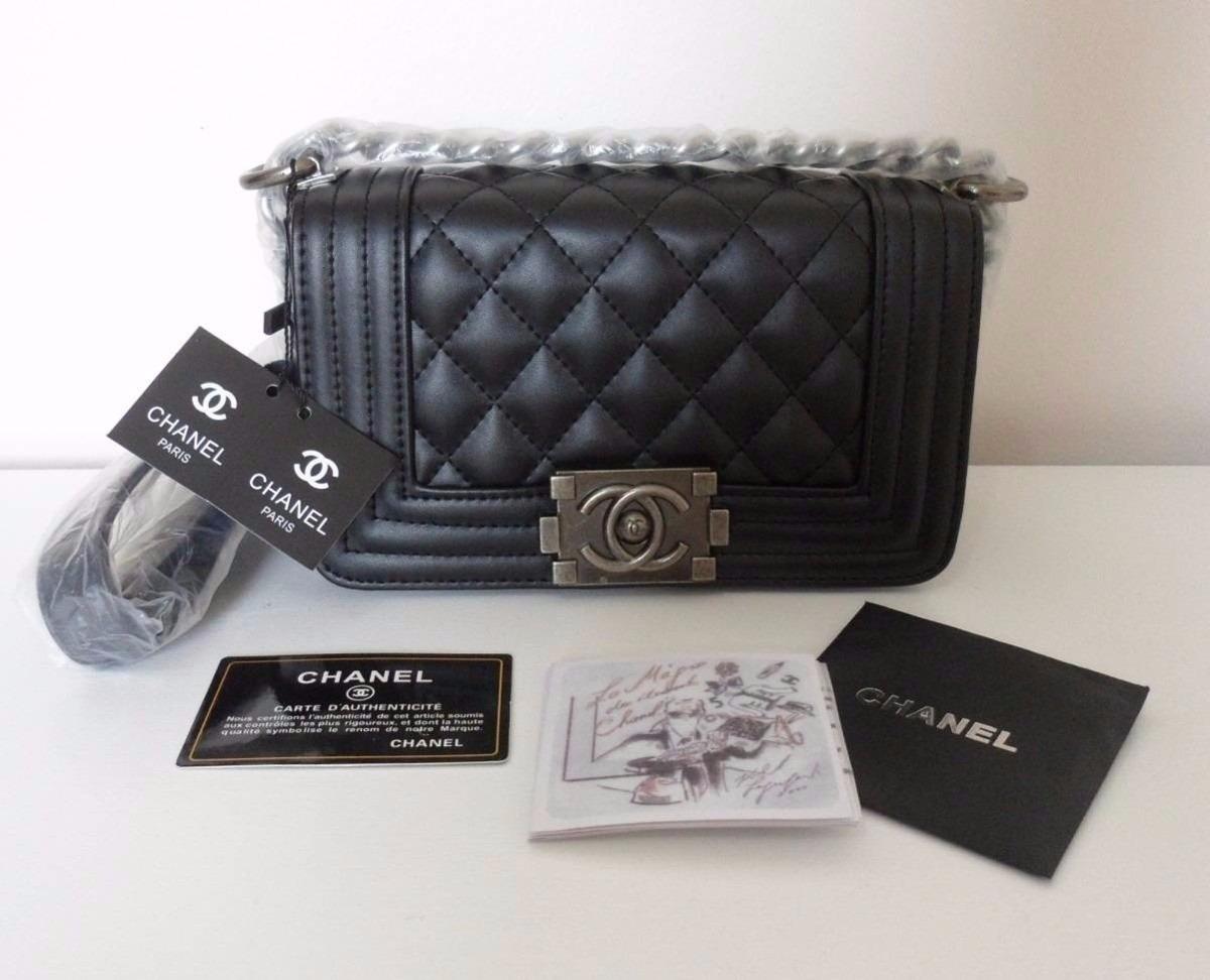dba2cdf08 Bolsa Chanel Le Boy 25 Cm Na Caixa Original - Sedex Gratis - R$ 3.249,00 em  Mercado Livre
