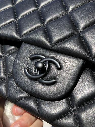 d6ba2a3c4 Bolsa Chanel Original Classic Flap Jumbo All Black - R$ 2.499,00 em ...