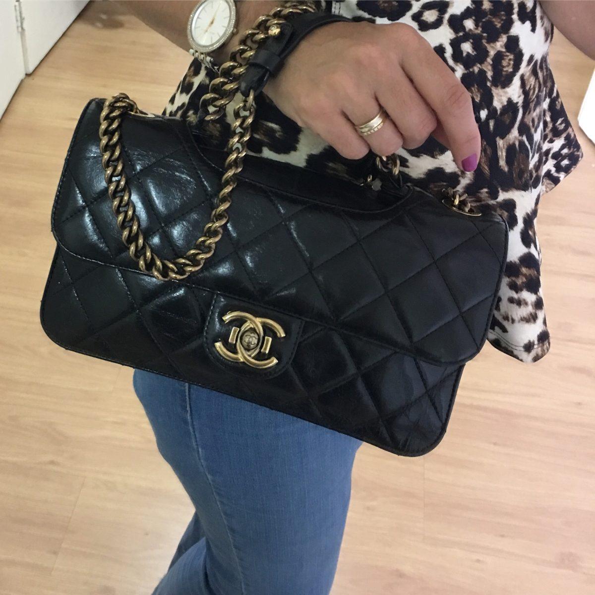 4b1cca33d Bolsa Chanel Original Usada - R$ 12.500,00 em Mercado Livre