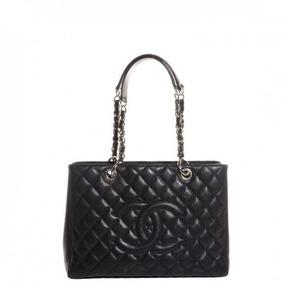 3266e78b6 Bolsa Chanel Shopper Grande Couro Lambskin - Bolsas Femininas no ...