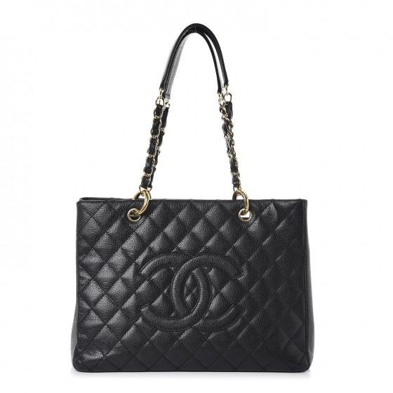 69f51502e Bolsa Chanel Shopper Gst Couro Caviar Ou Lambskin Na Caixa - R ...