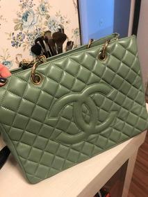 466bef229 Bolsa Chanel Shopper Couro Caviar - Bolsas no Mercado Livre Brasil