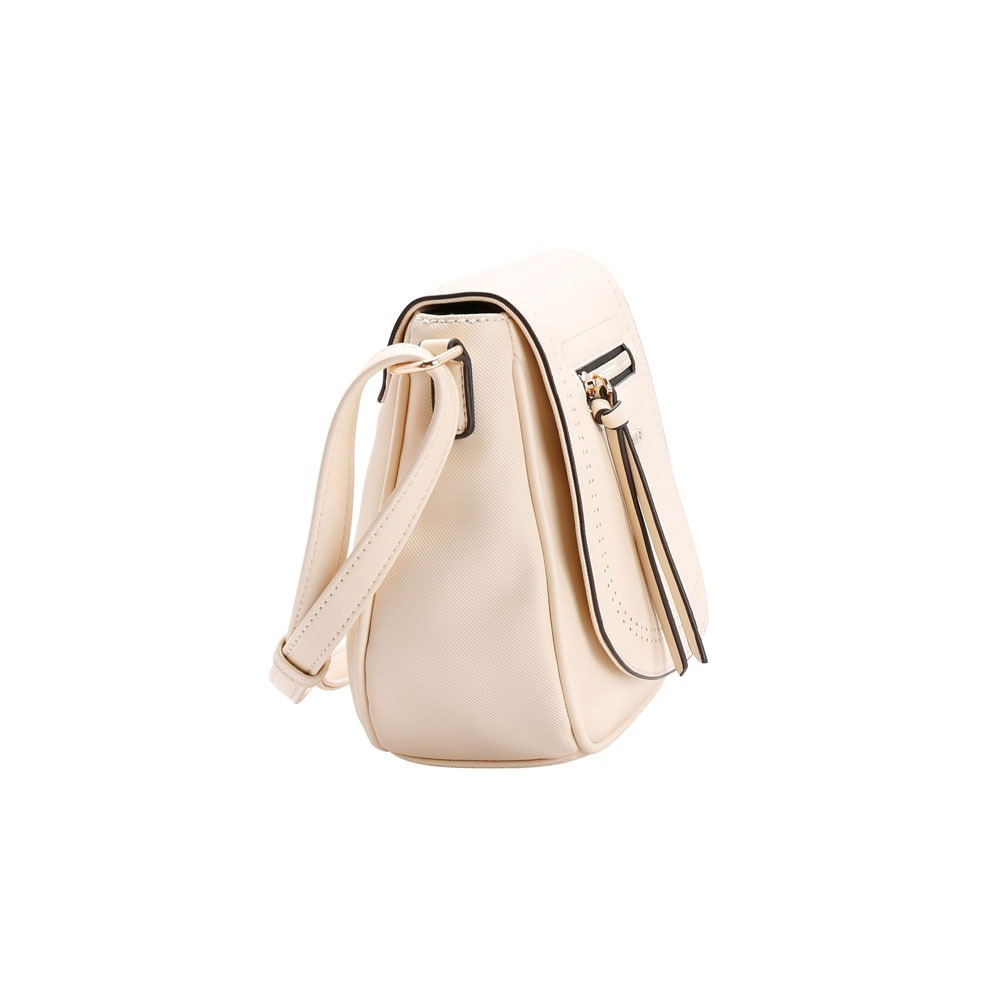 f0fe67a03 Bolsa Chenson Pequena Tiracolo Transversal Bege - R$ 121,90 em ...