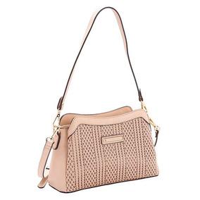 3bb06fc5d Bolsa Capim Dourado - Bolsas Chenson de Outros Materiais Femininas ...