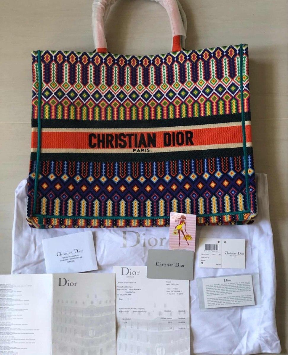 850964140 Bolsa Christian Dior Book Tote - R$ 2.199,00 em Mercado Livre