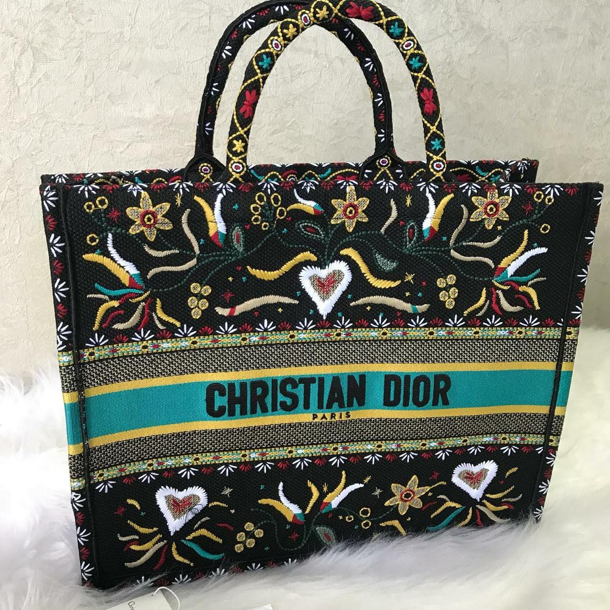 ff738546b Bolsa Christian Dior Book Tote Nova - R$ 2.200,00 em Mercado Livre