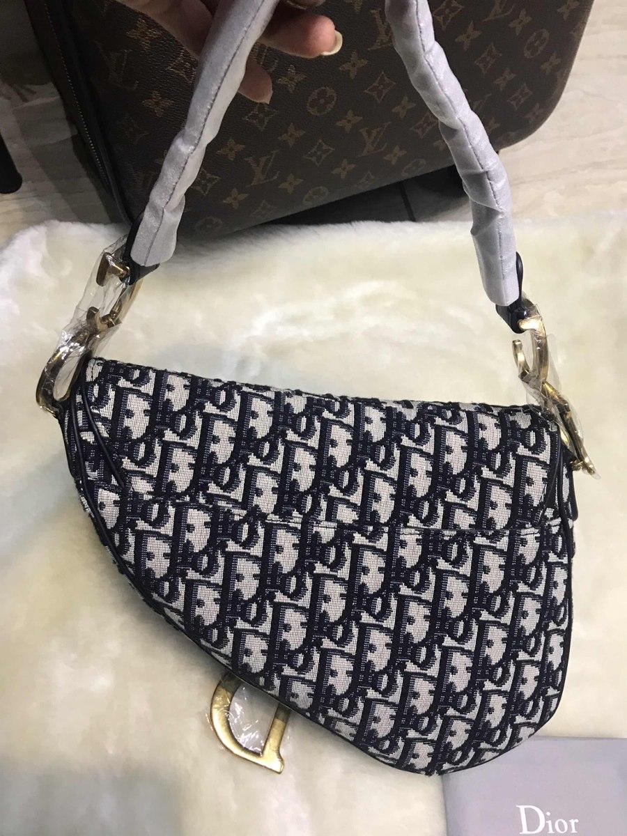 b0de2cb6c Bolsa Christian Dior Saddle - R$ 2.100,00 em Mercado Livre