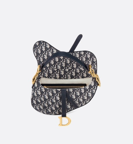 2575ffb8982 Bolsa Christian Dior Saddle - R  1.900
