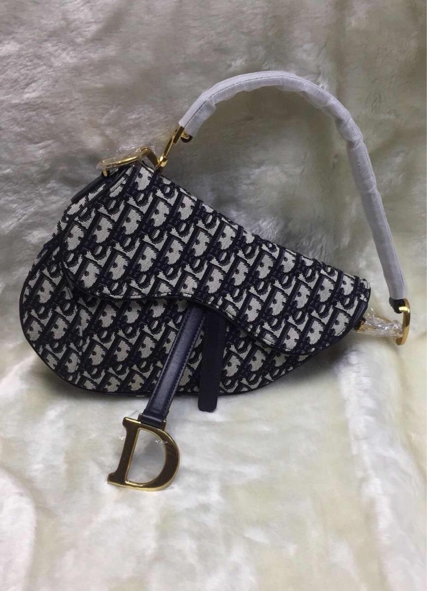 c339029e9 Bolsa Christian Dior Saddle - R$ 2.100,00 em Mercado Livre