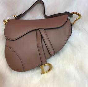 44c41795e Bolsa Dior Gaucho Saddle Em - Bolsas de Couro Marrom no Mercado ...