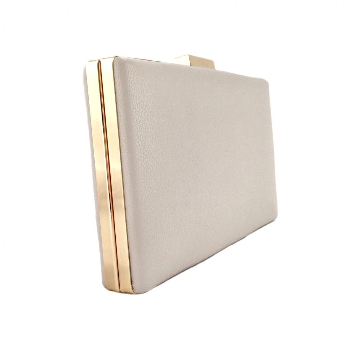 7241d7bf4 Bolsa Clutch Básica Gelo - R$ 94,00 em Mercado Livre