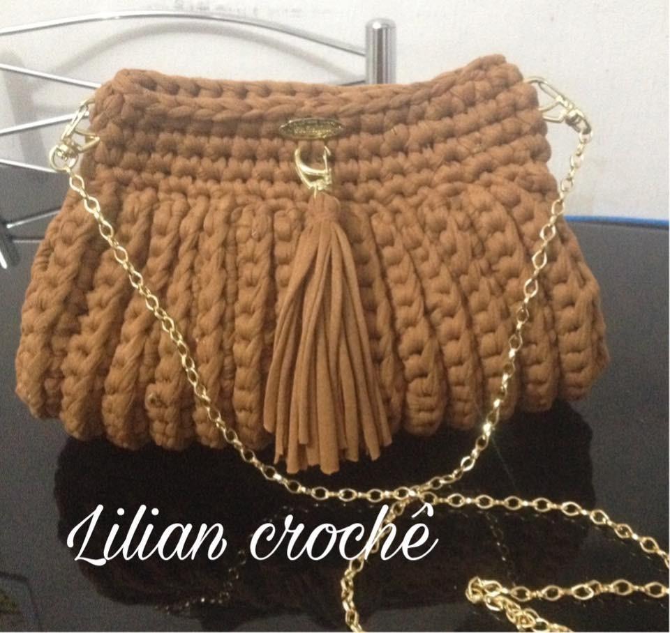 Bolsa Clutch De Croche - R  89 829ade8c7c2