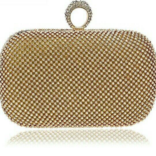 2ed0f9ca4 Bolsa Clutch Dourada Para Festa - R$ 122,00 em Mercado Livre