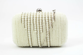 cf15e7417 Bolsa Clutch De Pérolas - Bolsa de Outros Materiais Femininas no Mercado  Livre Brasil