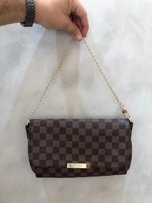 f7ba3b848 Louis Vuitton Original Favorite Pm Clutch Damier Ebene - Bolsas ...