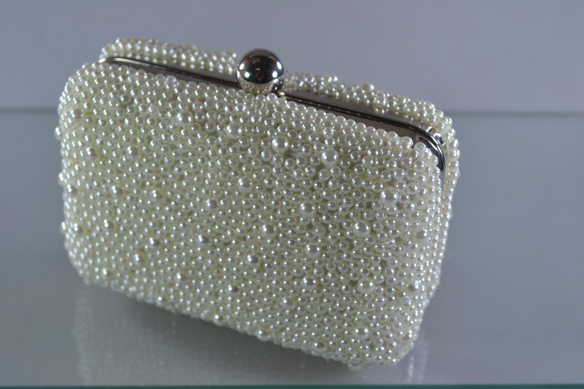 bolsa clutch feminina carteira pérolas dourada prata. Carregando zoom. 6b4b2fbda7d0b