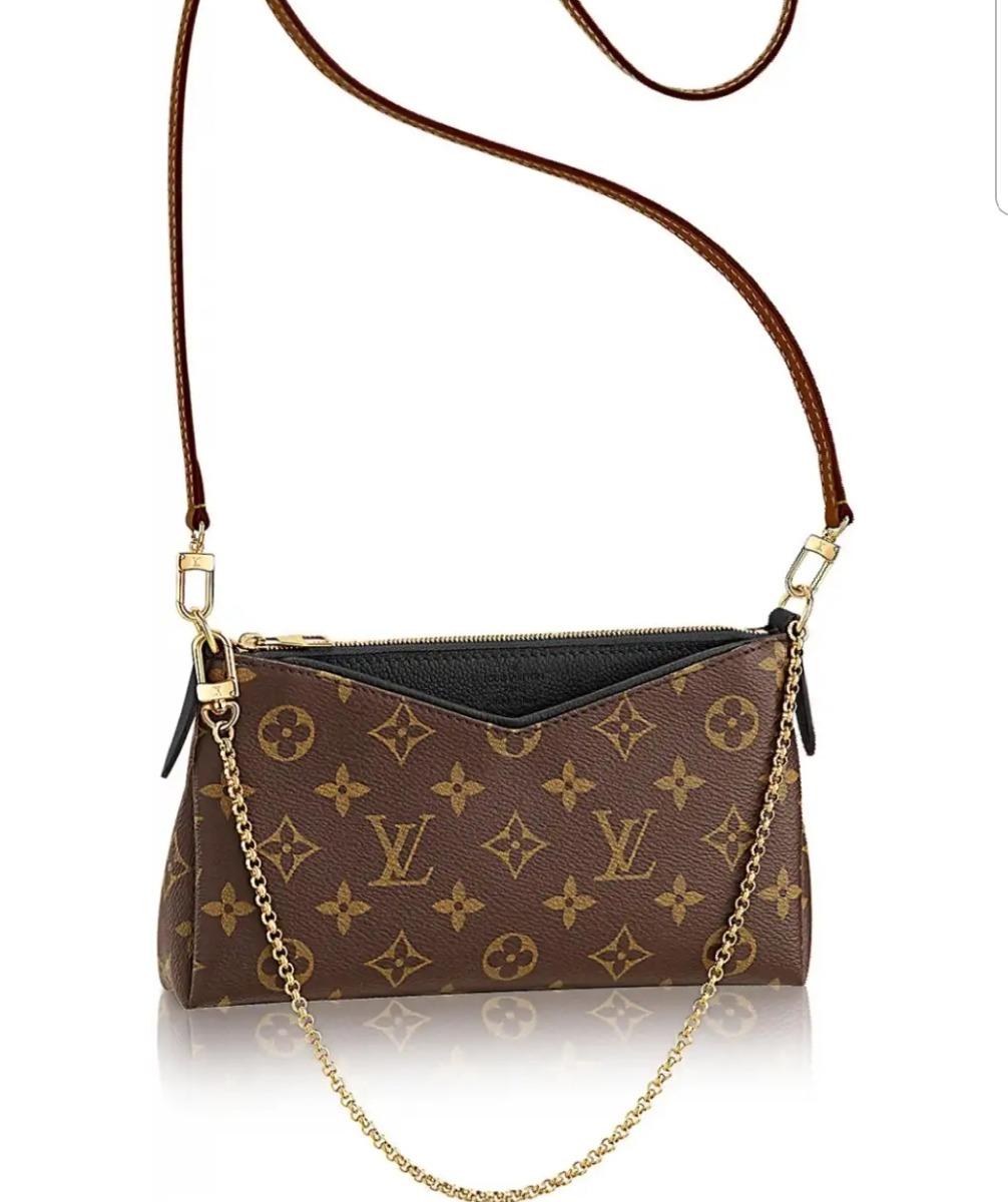 650459670 Bolsa Clutch Louis Vuitton Pallas - R$ 259,00 em Mercado Livre