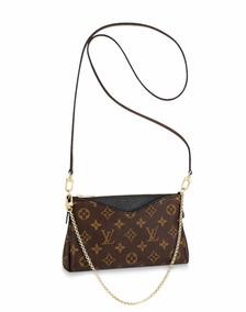 c6d4efa3a Bolsa Louis Vuitton Eva Clutch - Bolsas no Mercado Livre Brasil