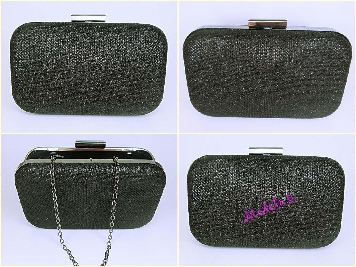 bolsa clutch preta bolsa de festa com alça tiracolo. Carregando zoom. fbbea9edff8