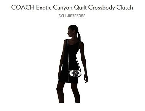 bolsa  coach color negro/blanco , nuevos modelos!!