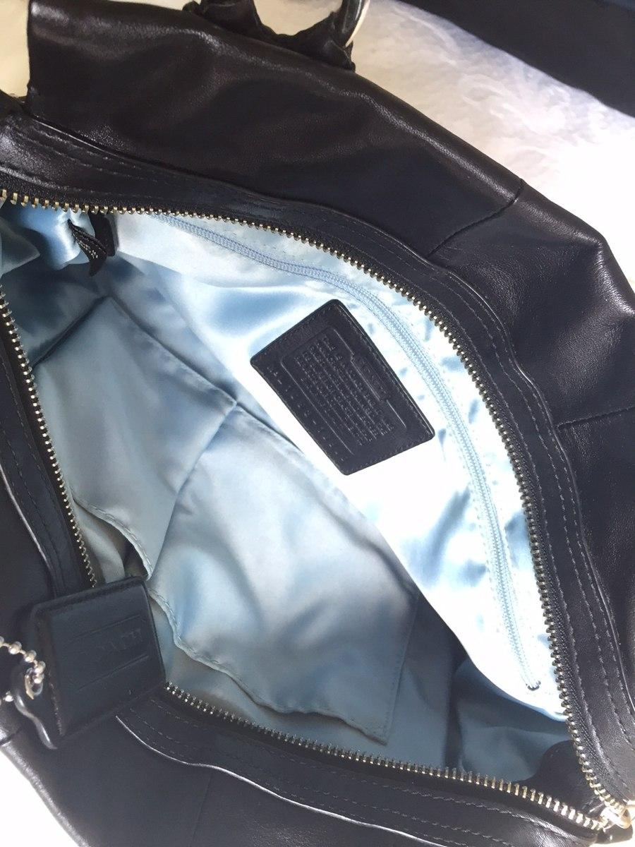 Bolsa De Mão Preta Mercadolivre : Bolsa original coach de m?o e tira colo preta couro