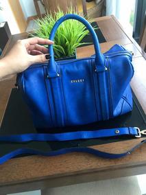 bef762229 Bolsa Colcci Original Usada - Bolsa Colcci Femininas Azul, Usado no ...