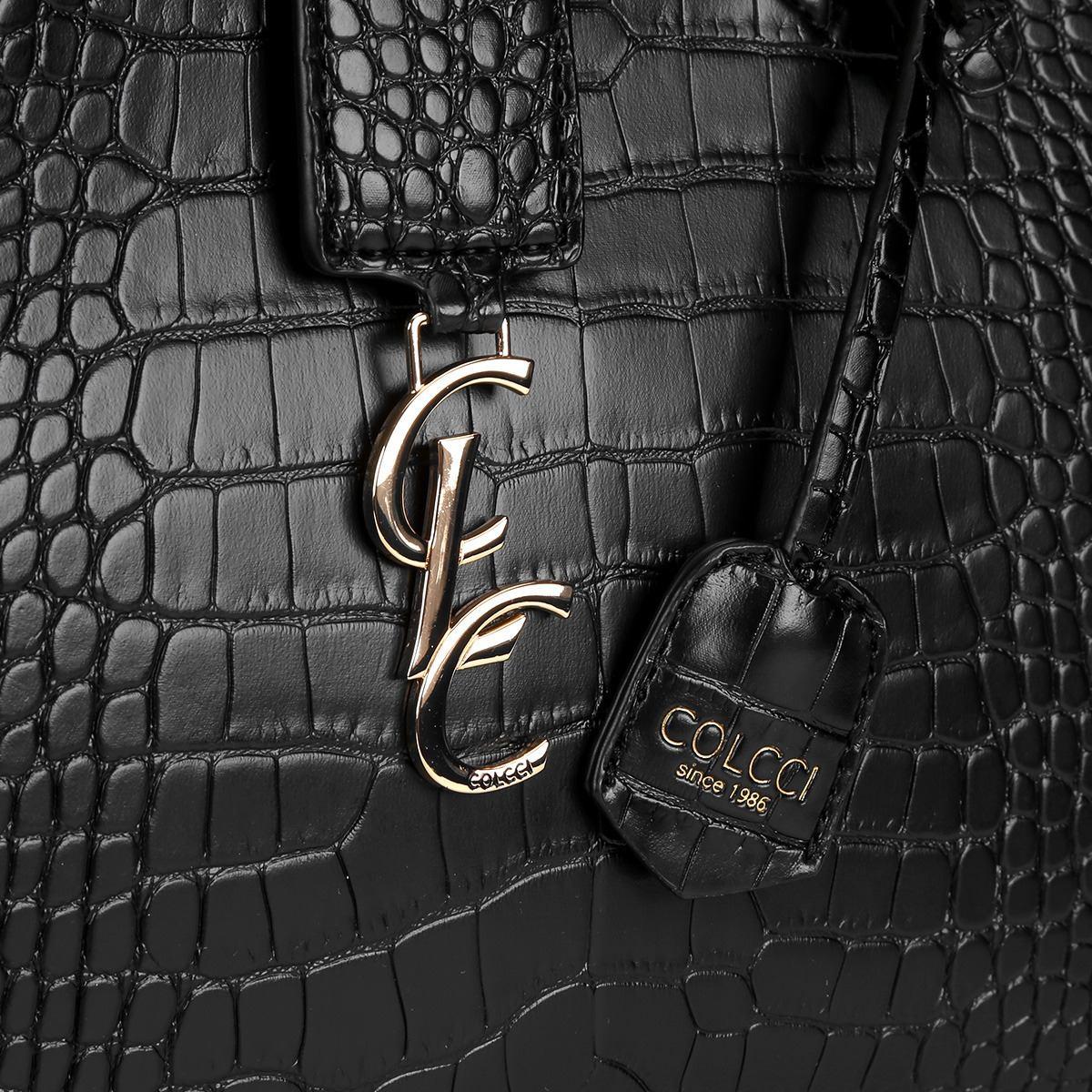 7163920d7 Bolsa Colcci Baú Textura Croco Chaveiro - R$ 599,00 em Mercado Livre