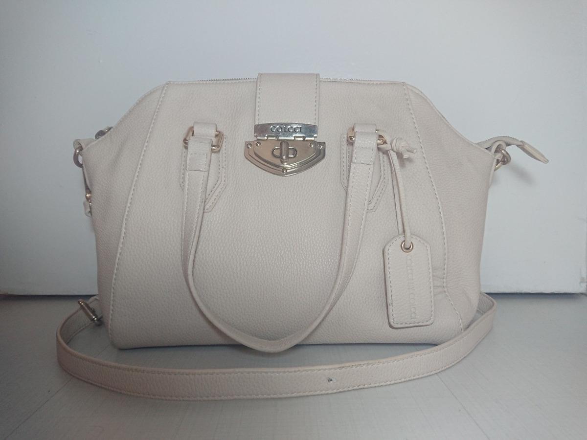 78c7e617e Bolsa Colcci Estilo De Ombro Off-white - R$ 250,00 em Mercado Livre