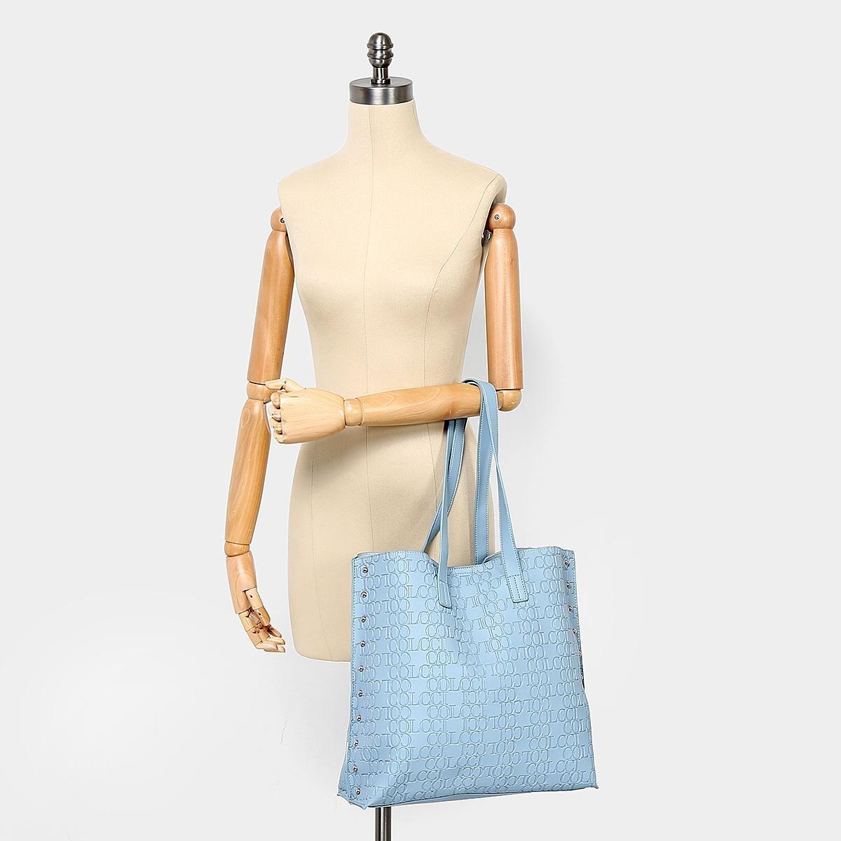 85759f1f0 Bolsa Colcci Shopper Croco Tachas Feminina - Tamanho Único - R$ 217 ...