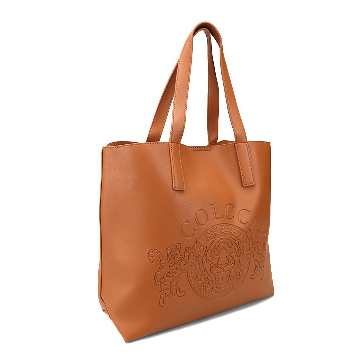 3e2232d18 Bolsa Colcci Shopper Brasão Feminina - Caramelo - R$ 489,90 em ...