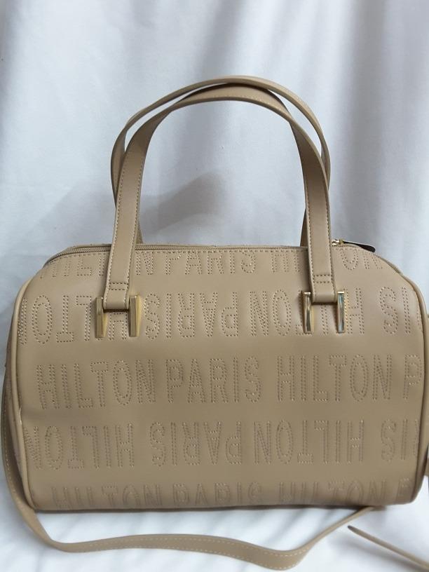 e213c34df Bolsa Color Nude Paris Hilton - $ 1,800.00 en Mercado Libre