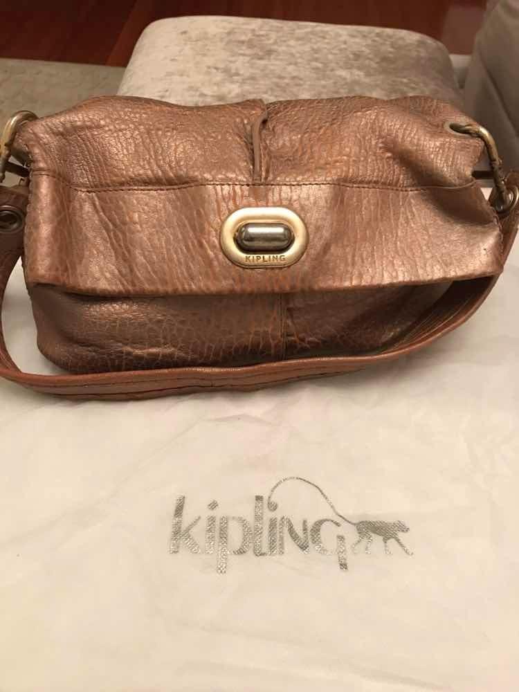 94494402d Bolsa Color Oro Rosa Marca Kipling 100% Original - $ 500.00 en ...