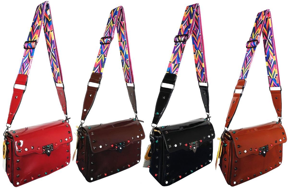 e50e3a368 bolsa com alca colorida preta bag strap inspired em marca. Carregando zoom.