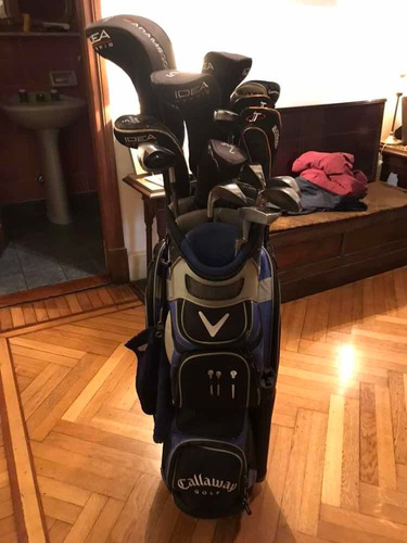bolsa completa de golf. senior 15 palos impecables!