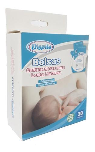 bolsa contenedora de leche materna para freezer x  2 cajas