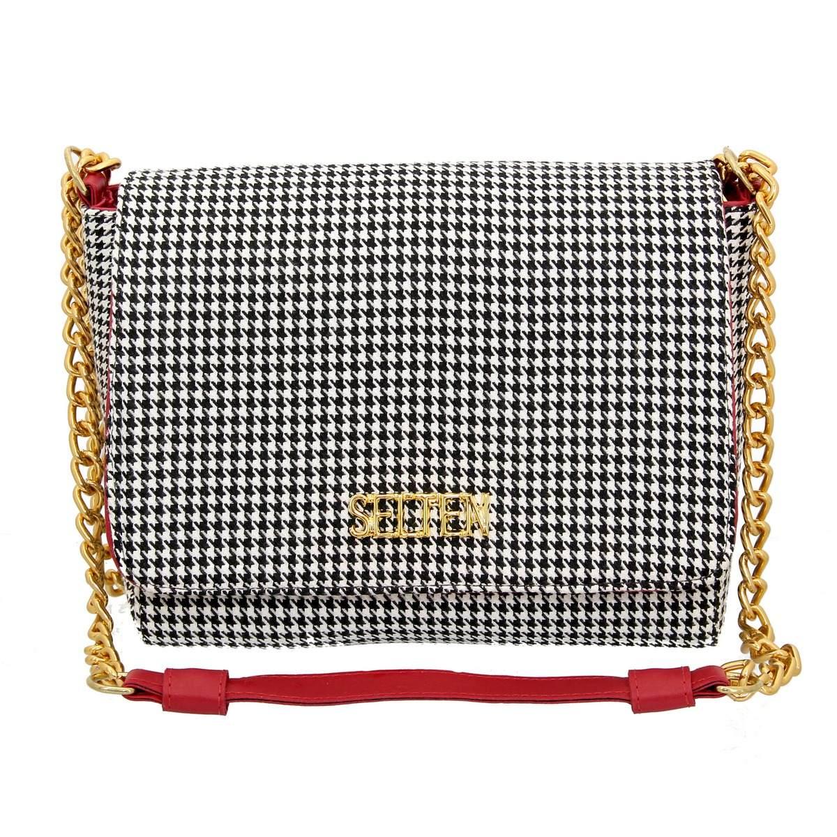 ba1567ca2 Bolsa Corrente Selten Em Tecido Vermelha Ta2 - R$ 119,90 em Mercado ...