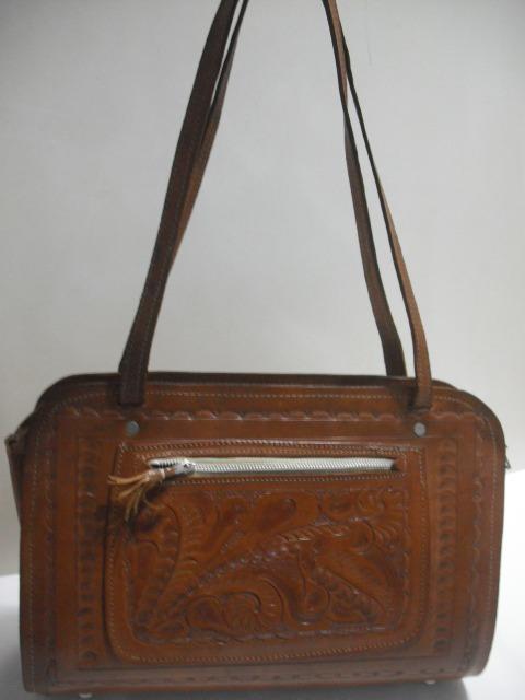d5ace7b40 Bolsa Couro Antiga Artesanal Usado Bom Estado Cfe Fotos - R$ 70,00 ...
