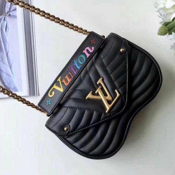 b15131e6c Bolsa Couro Chain Bag New Wave Louis Vuitton - Frete Grátis - R ...